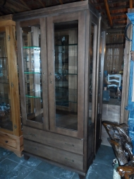 Cristaleira Lisa - 2 portas